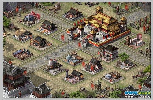 《烽火战国》游戏截图-网易腾讯巨人进入 7月网页游戏市场升温图片