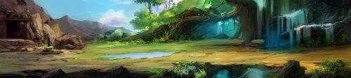 《斗破苍穹》游戏原画3