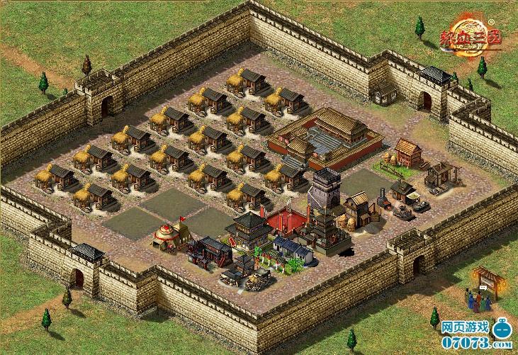 《热血三国》战场之外的城镇发展