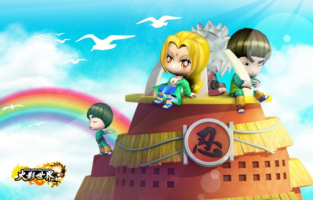 壁纸 火影忍者/火影忍者彩虹的天堂壁纸
