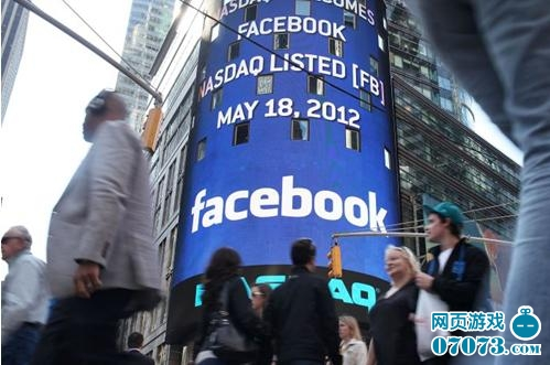 Facebook上市首秀遇故障 承销商托市保其未破发