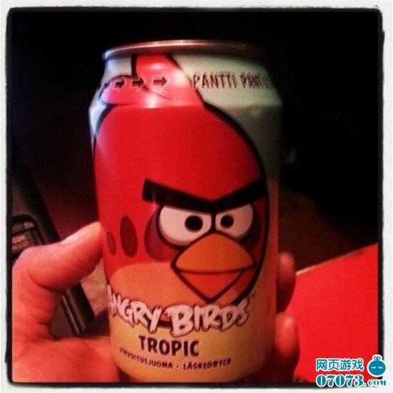 """""""愤怒的小鸟""""可乐:芬兰销量超可口百事"""