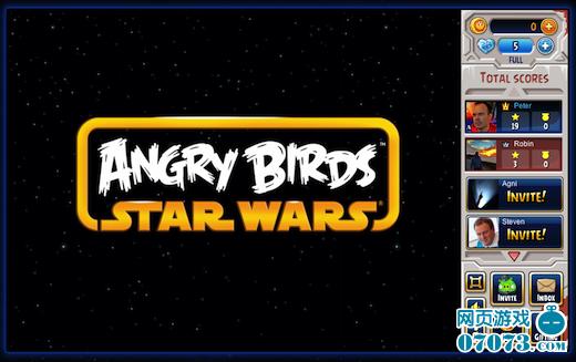 《愤怒的小鸟星球大战》测试版登facebook