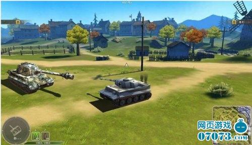 坦克英雄游戏截图一