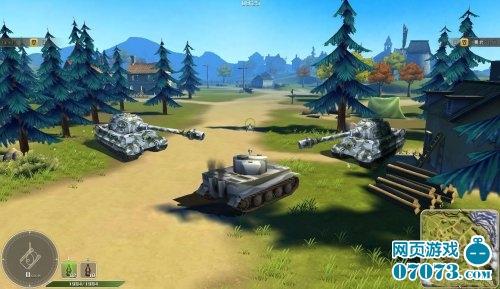 坦克英雄游戏截图三