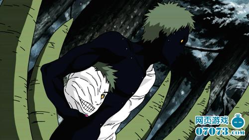 火影忍者漫画656话黑绝的恩赐与斑的重生