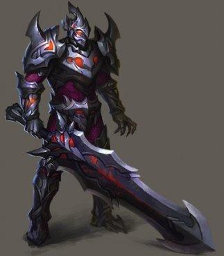 骑士战歌黑剑士原画