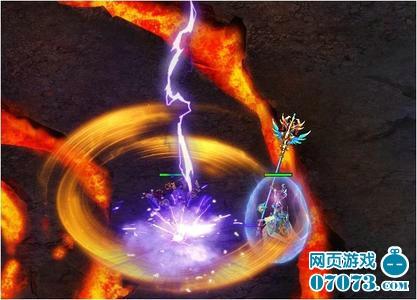 西游斗神游戏截图之炼狱中的雷火之舞
