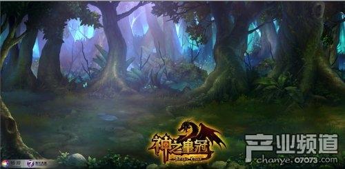 沉睡森林图片