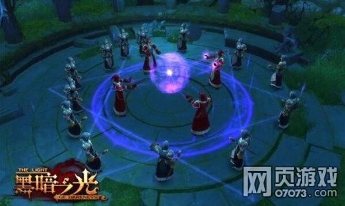 黑暗之光游戏战斗截图1