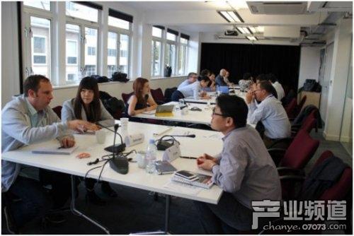 中国游戏界代表赴英了解英国游戏产业