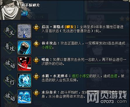 火影忍者OL再不斩资料介绍