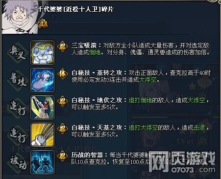 火影忍者OL千代婆婆近松十人卫资料介绍
