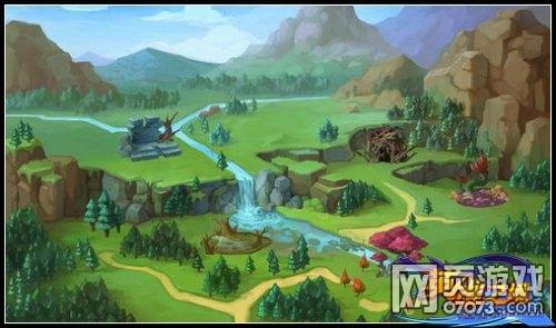 英雄之境格鲁森林场景截图