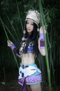 秦时明月美女cosplay图1
