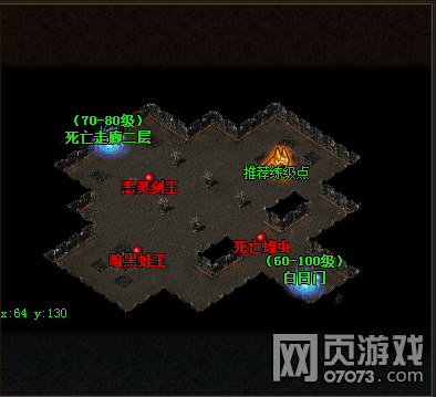 怒战传奇地图场景介绍