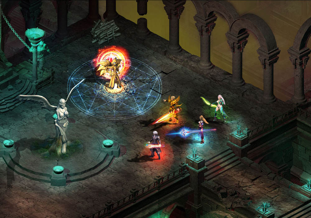 神裔之战游戏截图2