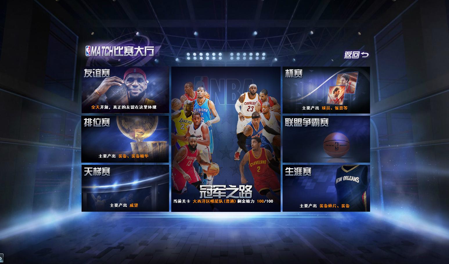 NBA范特西游戏截图4