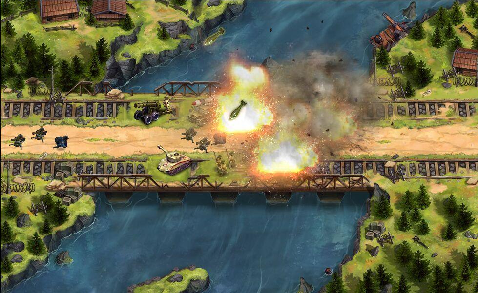 盟军防线游戏截图2