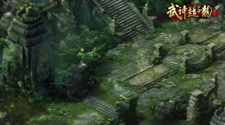 武神赵子龙吴哥圣地场景截图