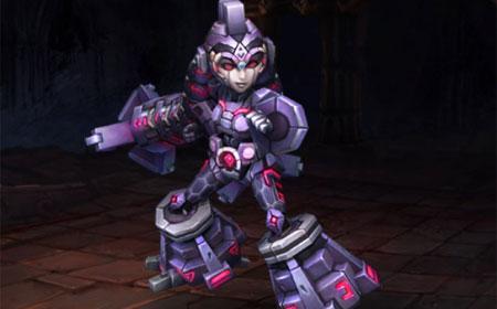 紫晶机甲 石甲守护者