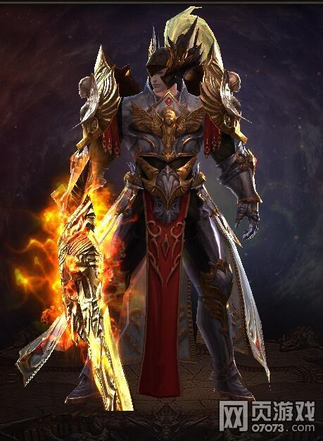 魔法王座圣剑士4阶弑神套装外观图赏