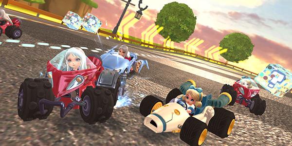 开心赛车游戏截图1