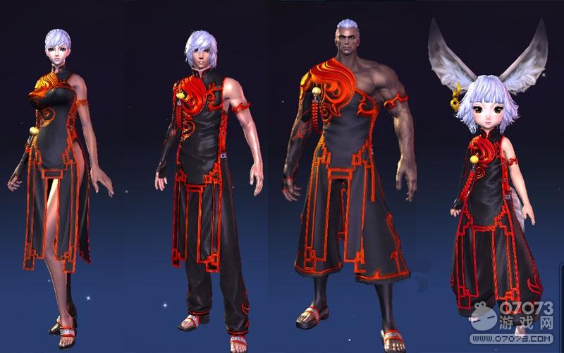 剑灵洪门阵营时装欣赏 浑天教和武林盟