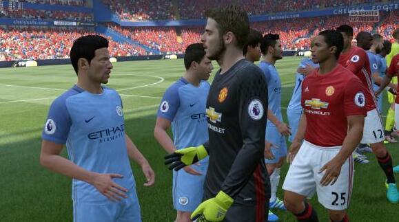 FIFA 18网页版游戏截图欣赏