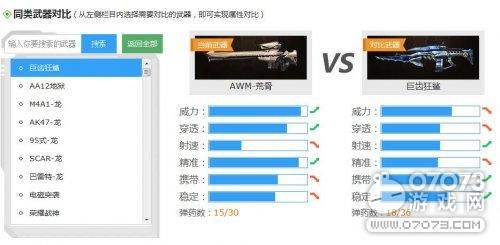 生死狙击AWM-荒骨(卓越级狙击枪)