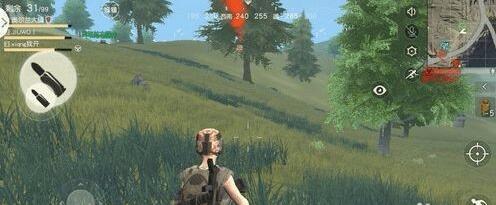 荒野行动空投怎么看 空投位置在哪