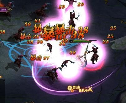 龙之女神游戏截图 超炫技能分享