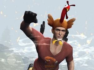 荒野行动火鸡帽分享 感恩节时装
