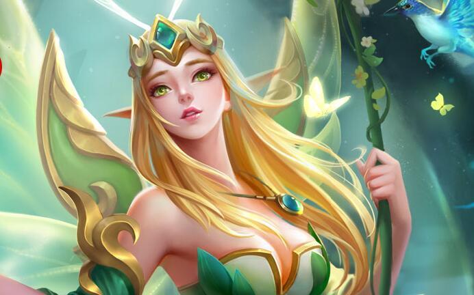 英魂之刃花仙子全新皮肤精灵公主