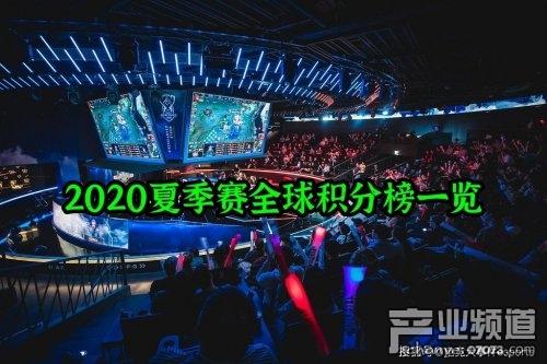 LOL四大赛区最新夏季赛排名:RNG三连败跌出舒适区