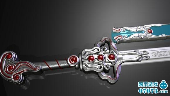 秦时明月凌虚剑与渊虹剑模型展示图片