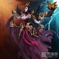 神权冥界女王赫拉原画