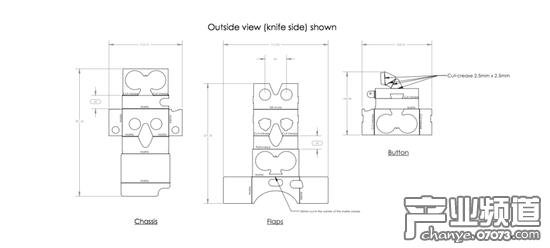 谷歌公布第二代VR墩台图纸眼罩:纸盒可DIY_国用户参数高架桥吗有基础图片