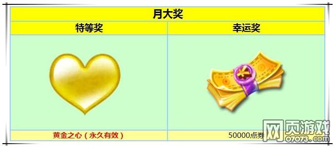炫舞时代2月刮刮卡 奖励大升级