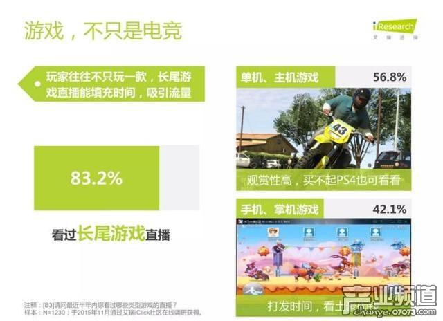 艾瑞咨询:中国电竞进入爆发期 89%用户热衷观看比赛