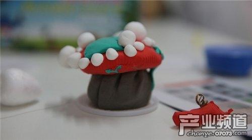 儿童粘土教程图解甜点