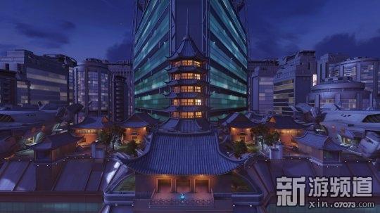 """""""漓江塔""""是《守望先锋》中唯一一个夜景抢点图,开发人员的设计灵感来源于许多各个不同的方面,其中最重要的一个灵感来源于中国重庆美丽的夜景,因为开发团队非常喜欢重庆夜景这么一个色彩缤纷的环境。相信国内玩家也一定很喜欢这片富有中式文化的华美地图,下面就一起来欣赏下《守望先锋》漓江塔地图的高清原画吧!"""