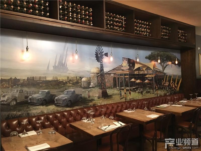 《最终幻想15》主题餐厅曝光 室内现精美原画_国外