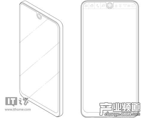 LG专利曝光手机新设计:全面屏上方添加辅屏