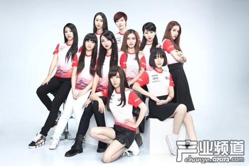 《王者荣耀》女子战队