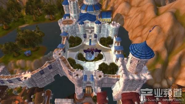 《魔兽世界》玩家用牙签重现暴风城要塞