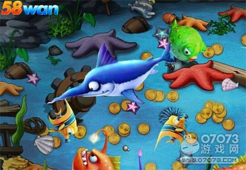 大鱼吃小鱼58wan《冒险世界》多彩海底世界