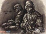 生死狙击玩家手绘-保卫者