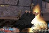 生死狙击游戏趣图-左掌心枪