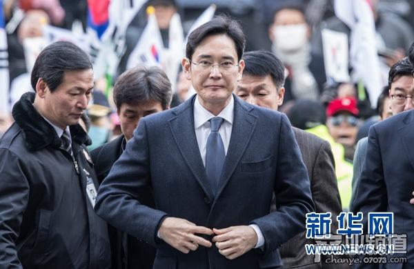 李在镕一审判五年 三星立刻表示将上诉